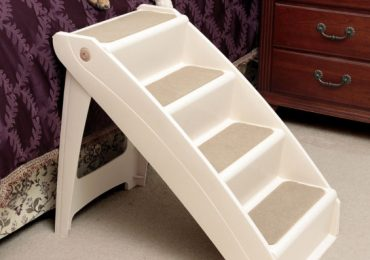 Dog Stairs for Bed with Functional Design and Easy Installation