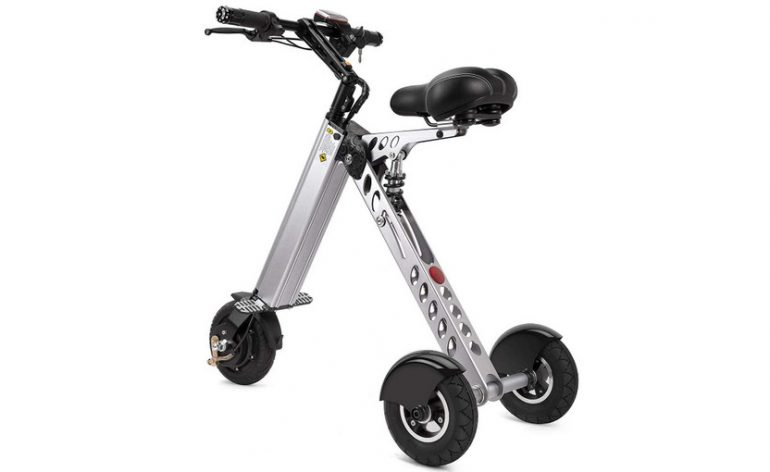 folding electric tricycle scooter $199