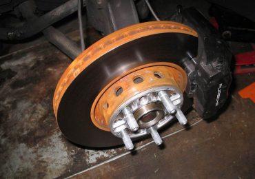 Rusted Brake Rotors