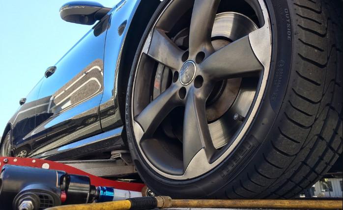 Curbed Wheel Repair Process for Aluminum Alloy Material Model