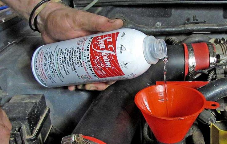 Seafoam Clean Fuel Injectors